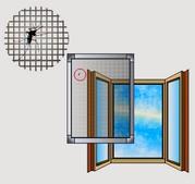 Москитные сетки оконные и дверные