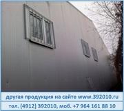 Сварная металлическая решетка на окно в Рязани