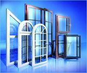 Окна,  двери и балконов ПВХ.