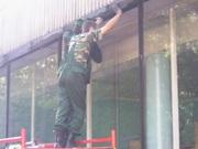 вставка оконых стекол,  остекление окон,  доставка,  установка