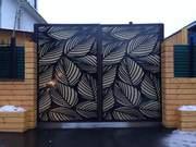 Дизайнерские заборы,  ворота и решетки из металла