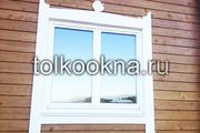 Окна из дерева любой конфигурации - дуб,  лиственница