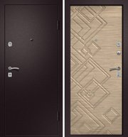 Продам входную металлическую (стальную) дверь от производителя,  Новосибирск.